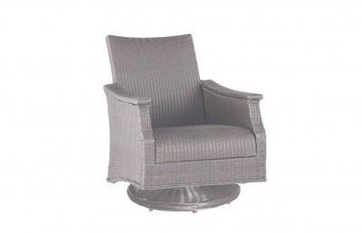 Bentley Swivel Rocking Lounge Chair in Oyster finish