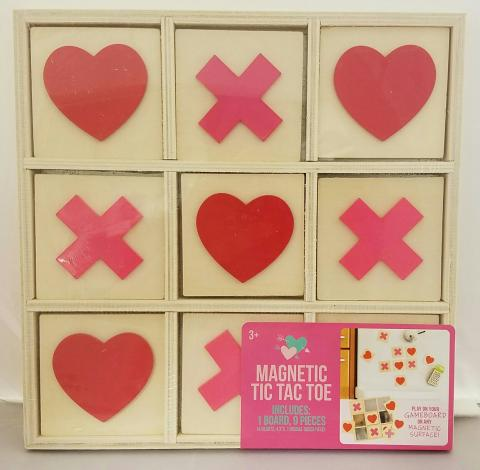 The Magnetic tic tac toe game