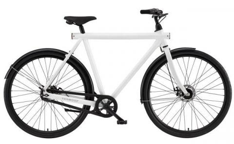 VanMoof B-series city bicycles: 3 speed diamond frame without integrated lock