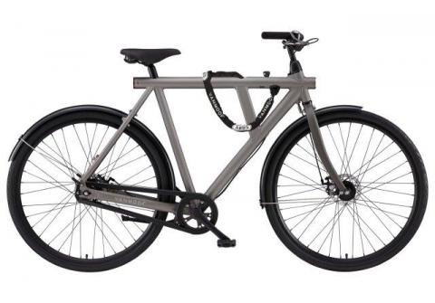 VanMoof S-series city bicycles: 8 speed diamond frame with integrated lock