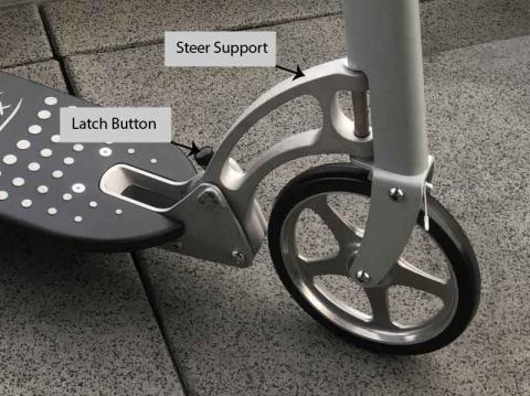 Xootr Scooter Steer Support with QuickClick Latch