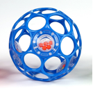 Oball Rattle (blue)