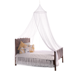 Hallee Starlit Nights Mosquito Net Bed Canopy (Assembled)