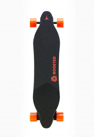 Top view of Boosted model