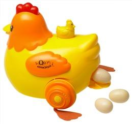 Recalled egg laying chicken toy