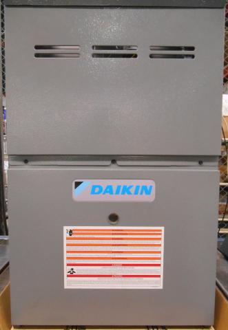 Recalled Daikin furnace