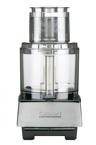Examples of Cuisinart food processors with riveted blades