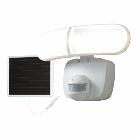 The recalled All-Pro MST800LW solar-powered motion-activated outdoor LED light.