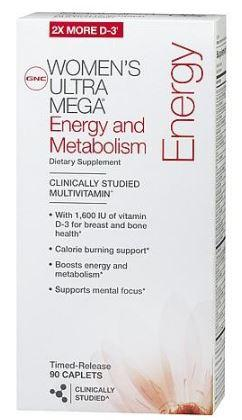 Picture of Recalled Ultra Mega Energy and Metabolism package