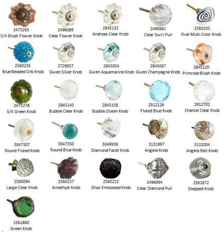 Pier 1 Imports Decorative Glass Knobs