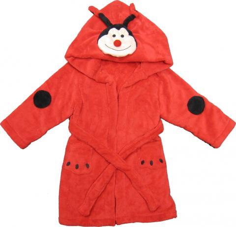 Kreative Kids lady bug children's robe