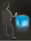 Roylco Educational Light Cube