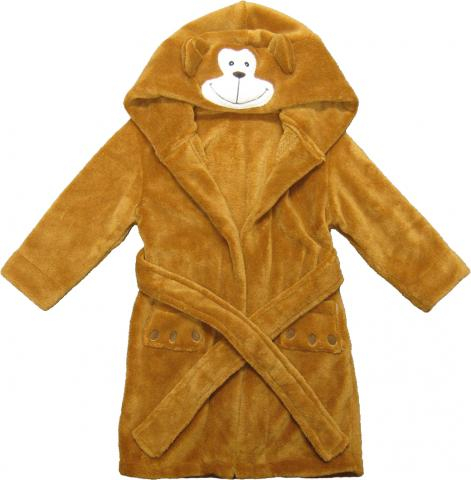 Kreative Kids monkey children's robe