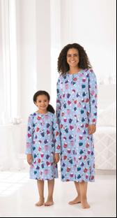 "FULLBEAUTY ""daughter Henley"" children's nightgowns"