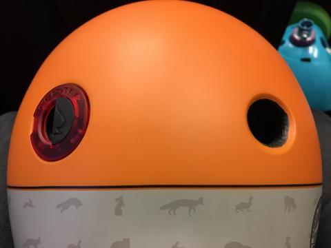 Pro-Tec City Lite helmet with LED light.