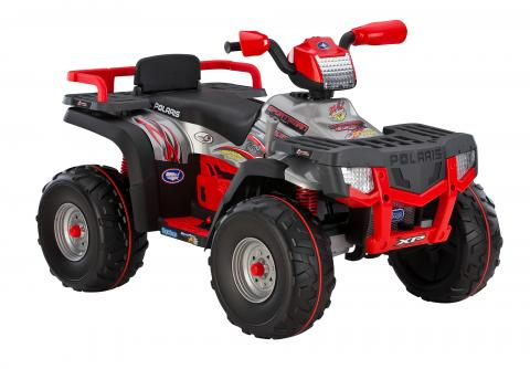 Recalled Peg Perego 850 Polaris Sportsman ride-on vehicle (front view)