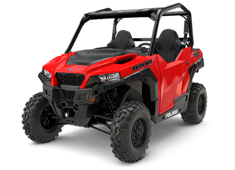 2017 Polaris GENERAL Base in red