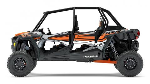 2018 Polaris RZR XP 4 Turbo in Ghost Gray