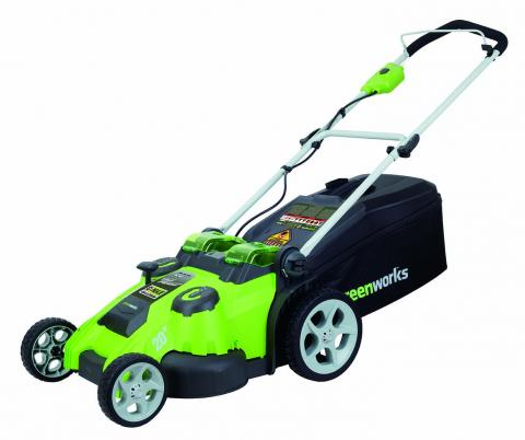 Greenworks G-MAX 40V twin force 20-inch cordless lawn mower