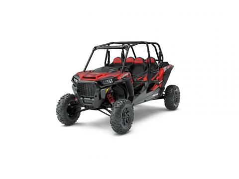 2018 Polaris RZR XP 4 Turbo Fox Edition in Matte Sunset Red