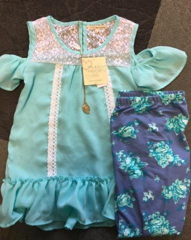 Recalled girl's clothing set with necklace
