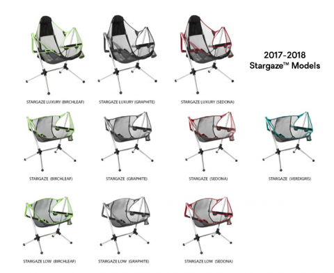 Recalled NEMO Equipment Stargaze recliner chairs