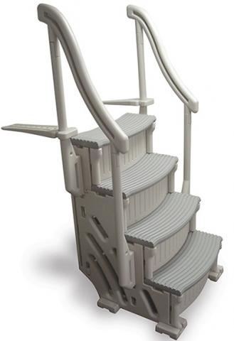 Recalled Confer Plastics pool step system (model CCX-AG)