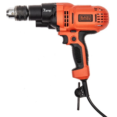 Recalled Black & Decker DR560 Drill/Driver without the affected side handles