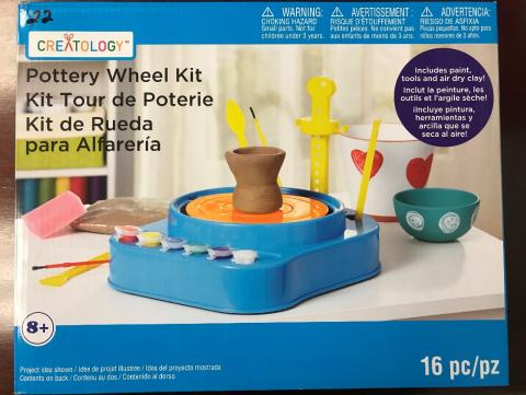 Michaels Recalls Pottery Wheel Kits Due to Fire and Burn