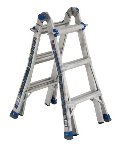 Recalled Multi-Purpose Telescoping Aluminum Ladder-Model MT-IAA-13A