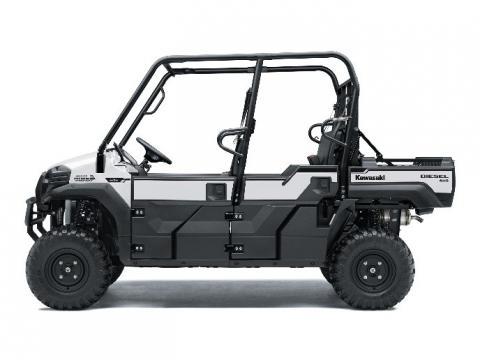 Recalled Kawasaki Mule Pro - silver