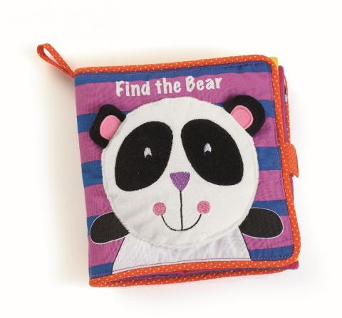 "Recalled ""Find the Bear"" soft book"