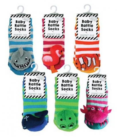 Recalled Midwest-CBK Shark, Flamingo, Clownfish, Whale, Crocodile, and Crab socks.