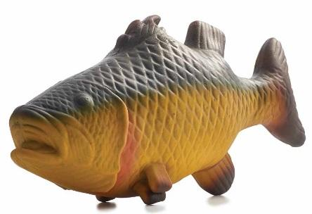 Recalled rubber critter fish toy