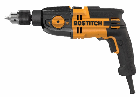 Recalled Bostitch BTE140/BTE141 Hammer Drill without the affected side handles.