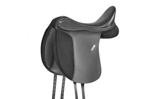 Collegiate Chatsworth Dressage Saddle in Black