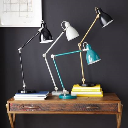Recalled West Elm Industrial Task table lamps