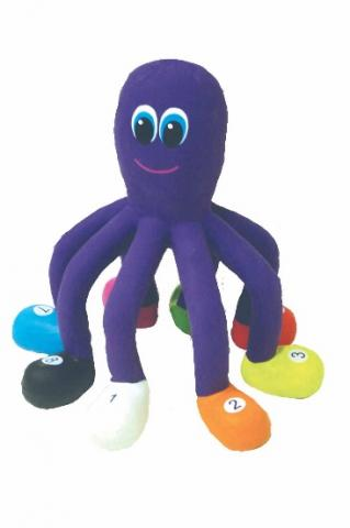 Recalled rubber critter octopus toy