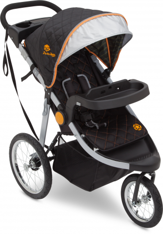 J is for Jeep brand cross-country all-terrain jogging stroller
