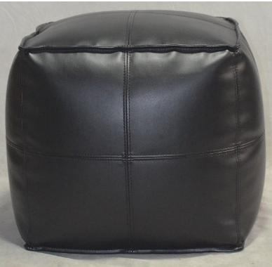Target Recalls Leather Pouf Ottoman
