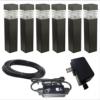 有缺陷的发光二极管LED电源和路径灯一起销售。该电源的插头从插座拔出时,插头内的插片会留在交流电插座内,对使用者构成电击风险。