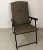 庭院折叠椅的椅架会弯曲,导致使用者跌倒,构成受伤风险。