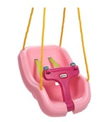 2-in-1 Snug 'n Secure Pink Swing