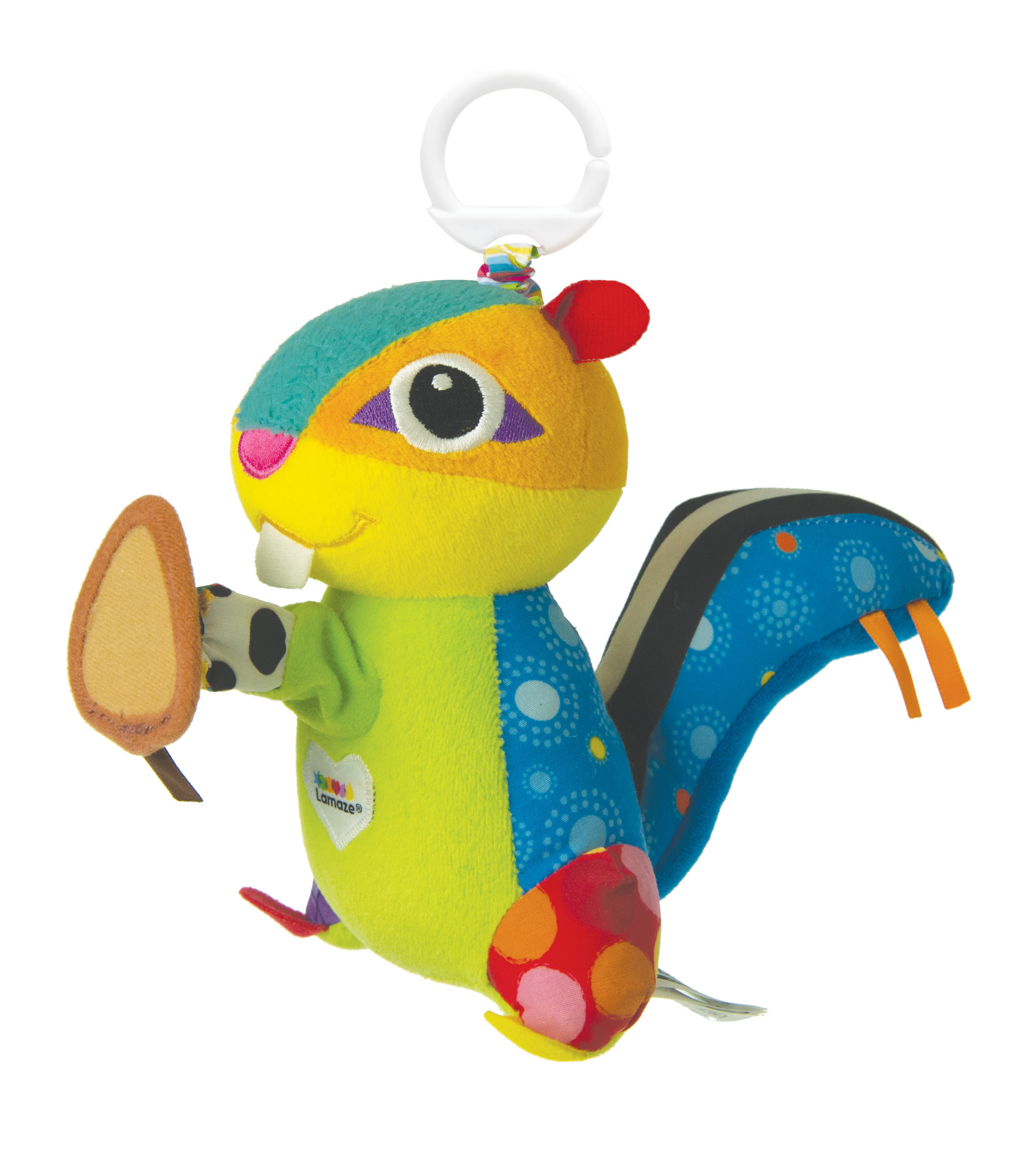 TOMY rappelle des jouets Munching Max Chipmunk en raison du risque de lacération
