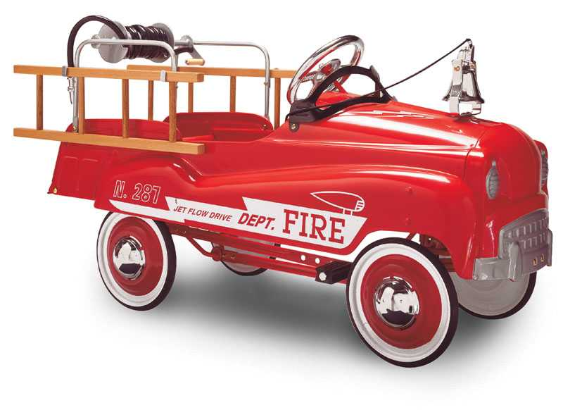 Picture of Recalled Pedal Car