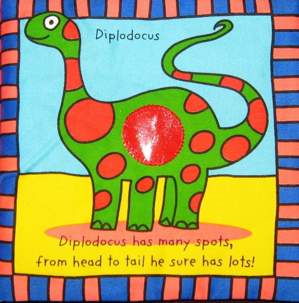 Picture of Recalled Diplodocus  cloth book