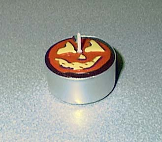 Picture of Recalled Halloween Pumpkin Tealight Candle