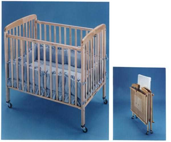 headboard crib commercial play pin steel cribs foldable size folding daycare clearview compact fixed side baby safetycraft fd