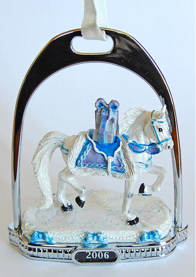 Picture of Recalled 2006 Snow Princess Stirrup Ornaments
