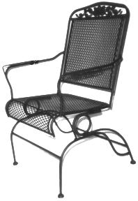 Gables Patio Rocking Chair